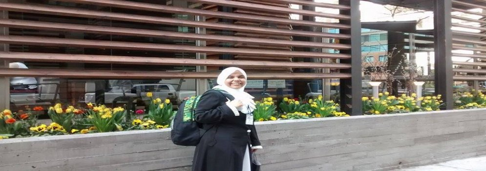 Dr. Radwa Mahmoud, an assistant professor of English Literature