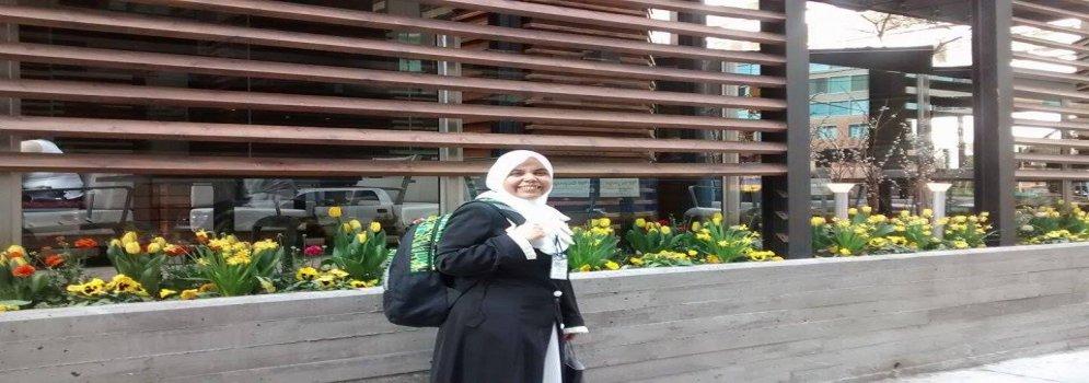 Dr. Radwa Mahmoud, an assistant professor of English Literature